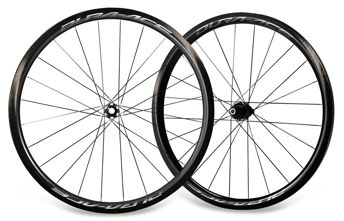 ca8aaf1c389 Shimano WH-9170-C40-TL Dura-Ace Clincher Disc Tubeless Wheelset ...
