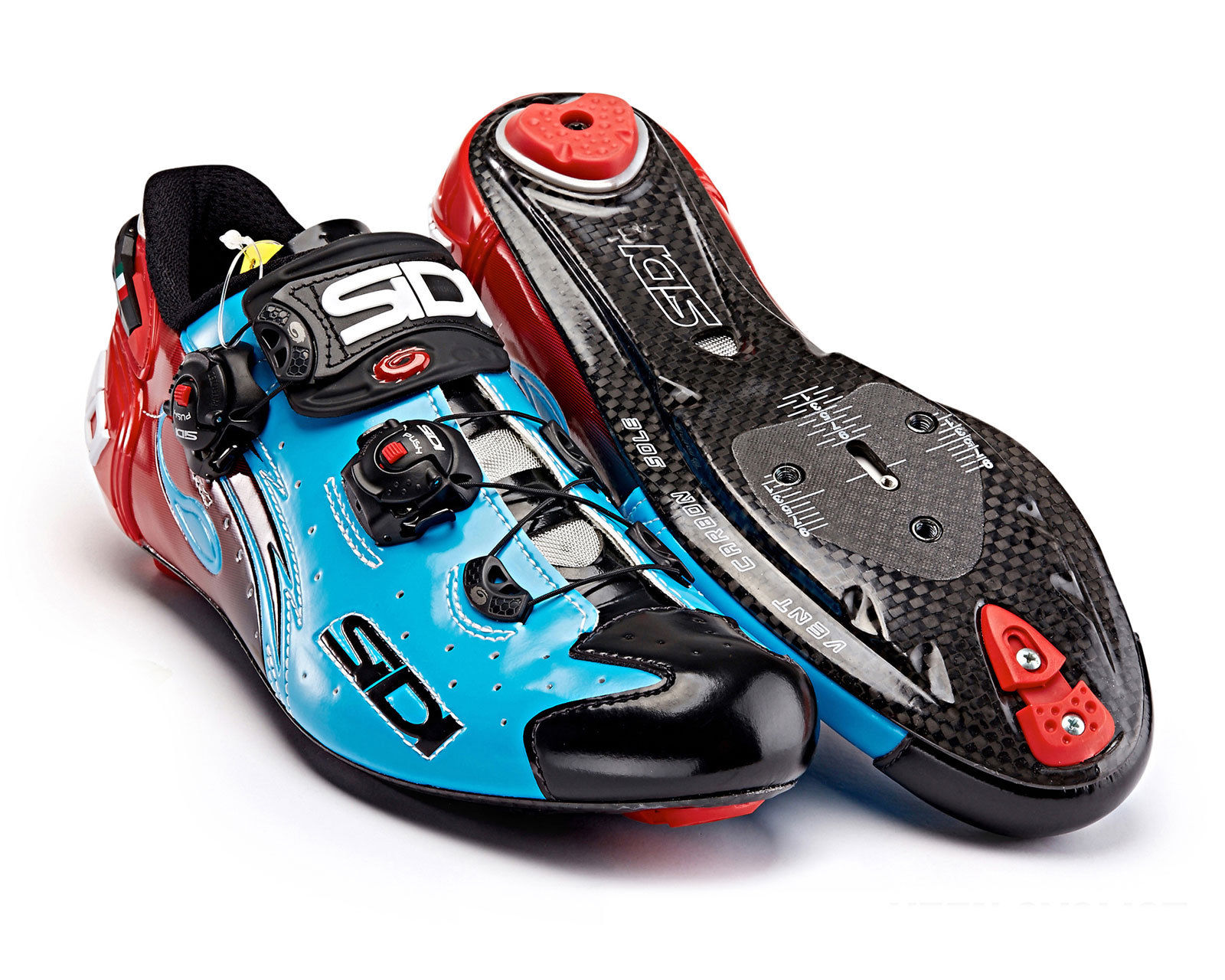 Stupendous Sidi Wire Vent Carbon Sky Blue Black Red Bike Closet Wiring Digital Resources Indicompassionincorg